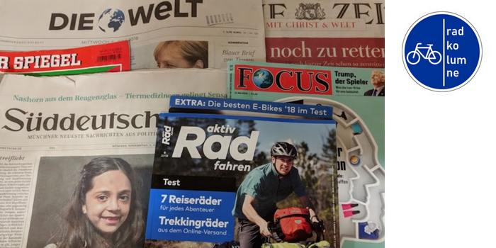 Radkolumne Presseschau