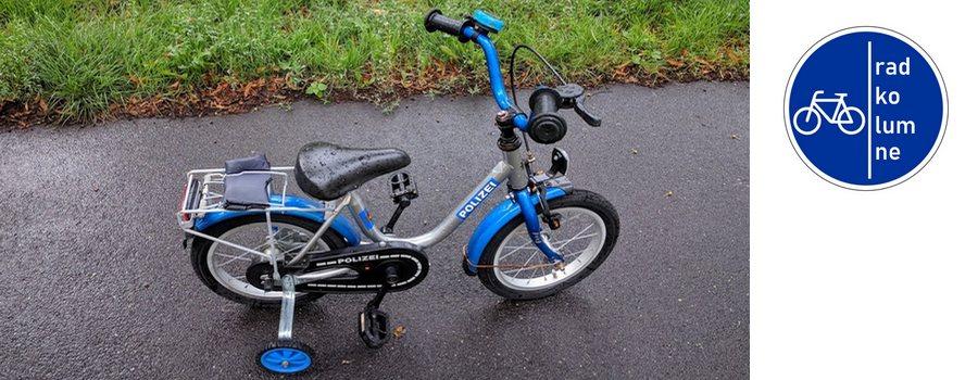 Fahrradstaffel der Polizei.