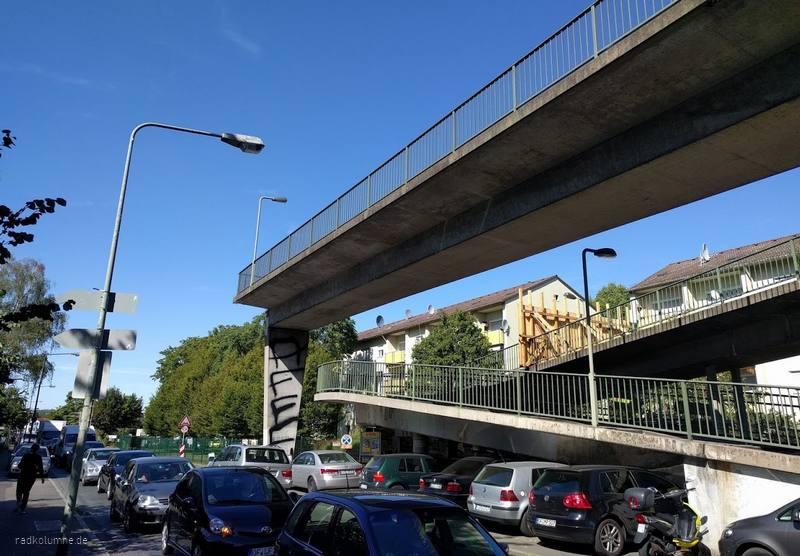 Verkehrsmonstrum Frankfurt, Casella Eck