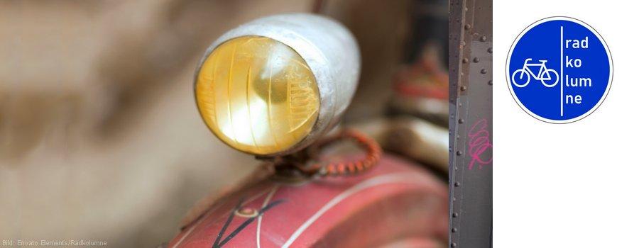 Fahrrad Vorderlampe