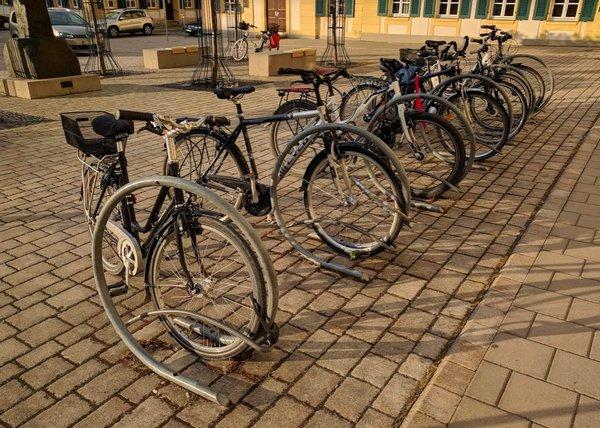 Fahrradständer in Ansbach
