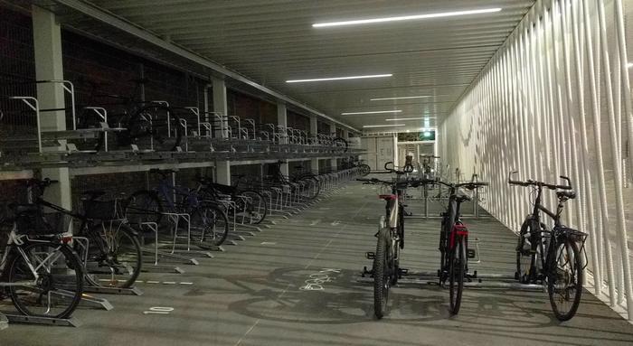 Fahrradparkhaus Nürnberg