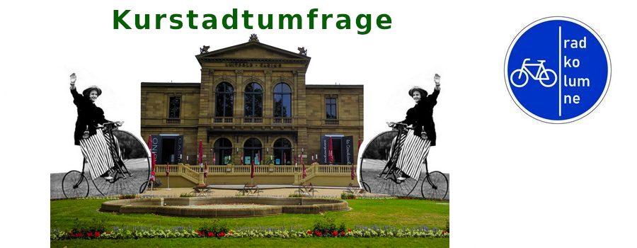Kurhaus Bad Kissingen mit Fahrrädern