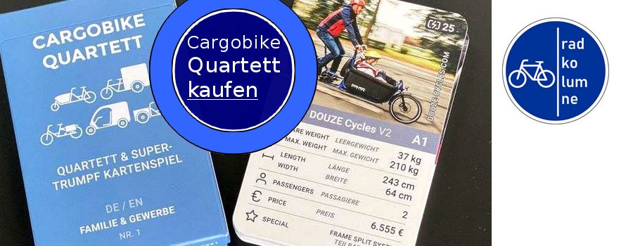 Cargobike-Quartett.