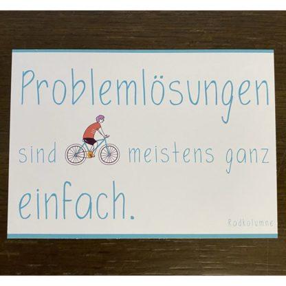 Problemlösungen sind meistens ganz einfach